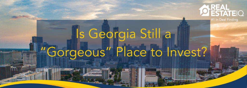 Georgia, empire state of the south, real estate iq, reiq summit