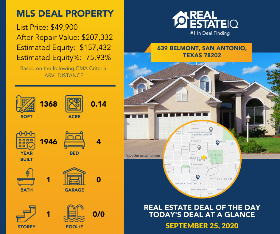 Deal of the Day, Real Estate IQ, #REIQSummit