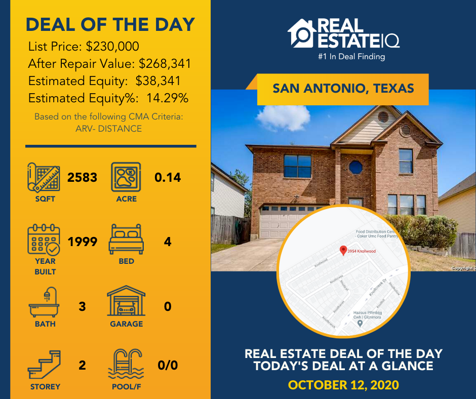deal of the day, san antonio, texas, real estate iq, real estate summit