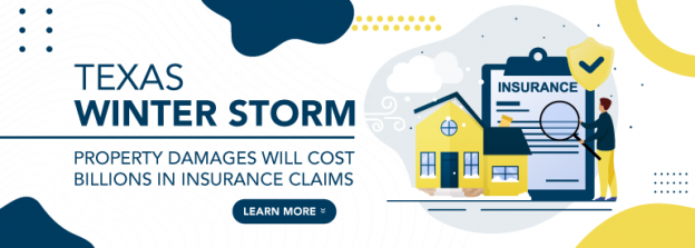 Texas winter storm: house damages and insurance claims