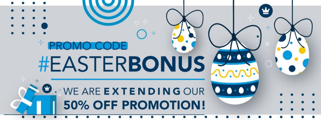 50% off promotion!
