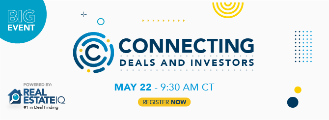 Connecting: Deals and Investors - Subscribe to the virtual event!