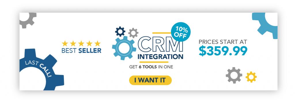 ¡Prueba ahora nuestro CRM Integration!