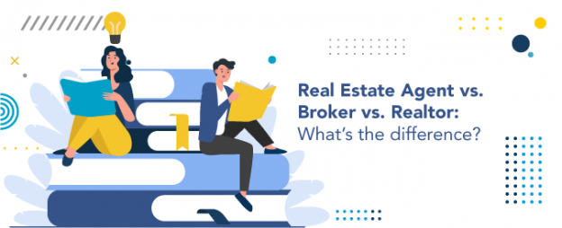 What's the difference between a real estate agent, a broker, and a realtor?