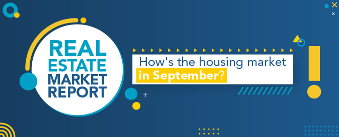 How's the housing market in September? Check out the latest Real Estate Market Report!
