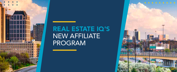 Anyone can join Real Estate IQ's new Affiliate Program!
